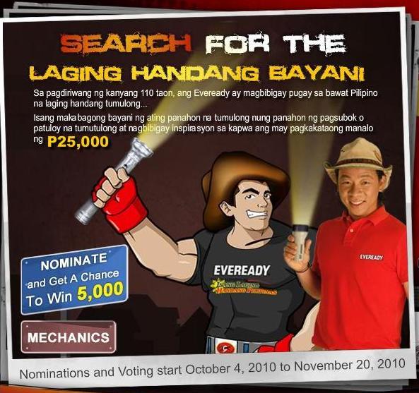 Eveready Laging Handang Bayani