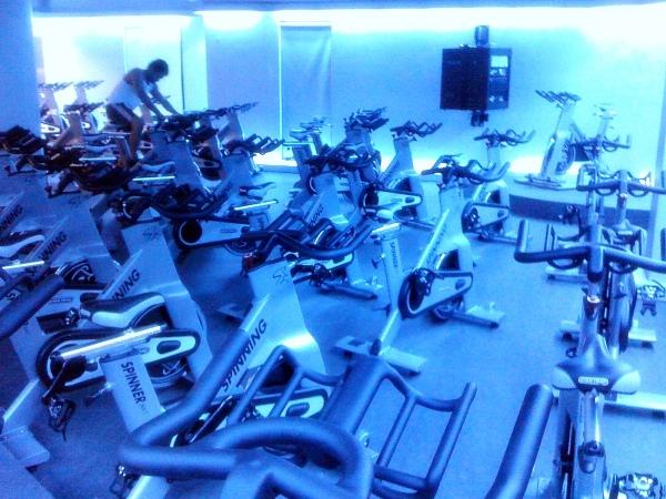 Cycling Studio - Fitness First Fort Bonifacio