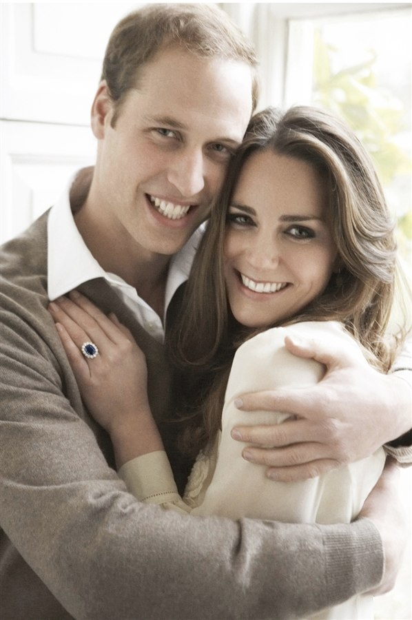 Kate Middleton and Prince William - Engagement Ring