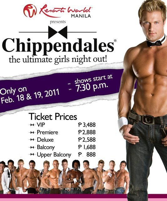 Chippendales at Resorts World