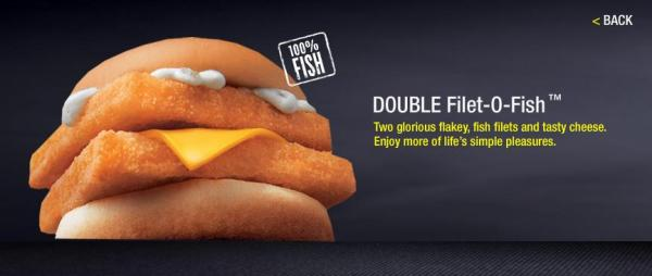 Double Filet-o-Fish