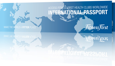 Fitness First International Passport