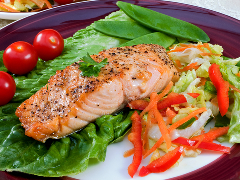 Healthy Tuna and Green Salad