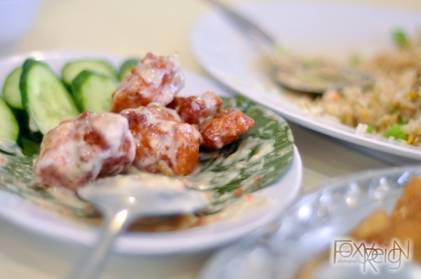 Pork with Mayonnaise (猪肉美奶滋)