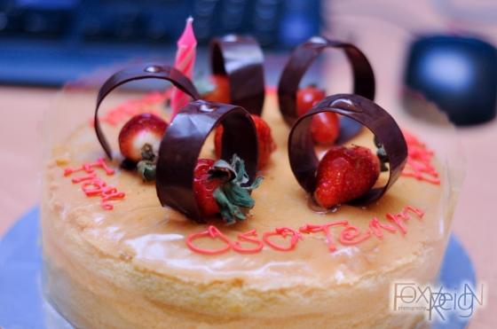 Custard Cake From Vange
