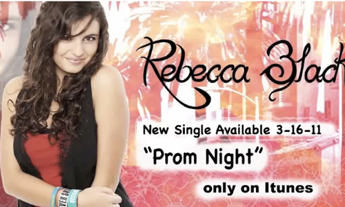 Rebecca Black Prom Night