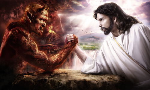 Jesus vs Lucifer