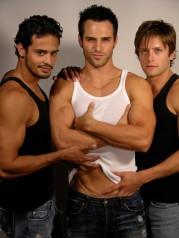 Adrian Quinonez, Marco Dapper and Brett Chukerman