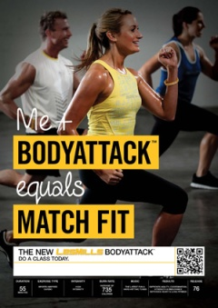Les Mills Body Attack 76
