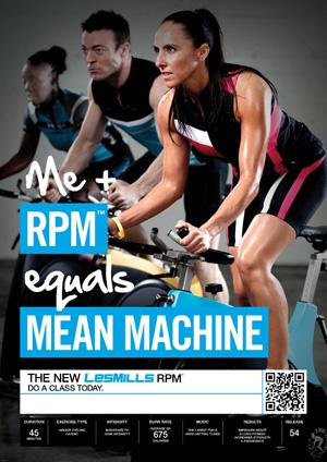 Les Mills RPM 54