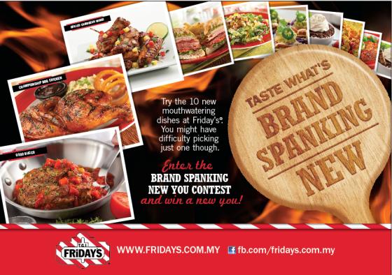 TGI Friday's Brand Spanking New
