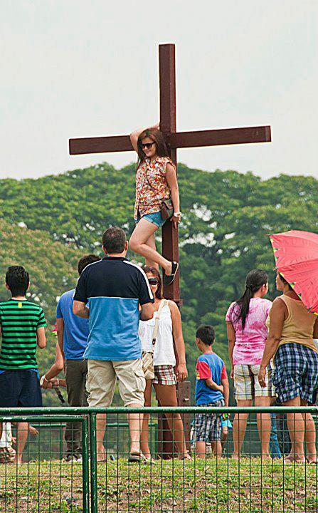 Hanged by Crucifix