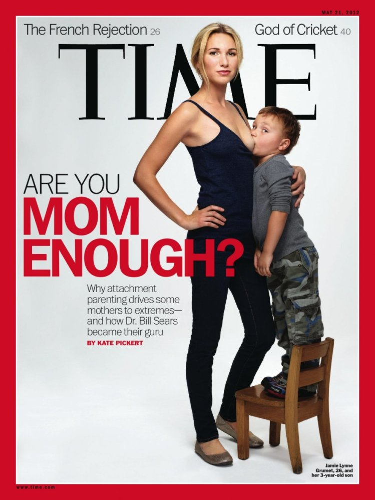 Time Magazine Breastfeeding