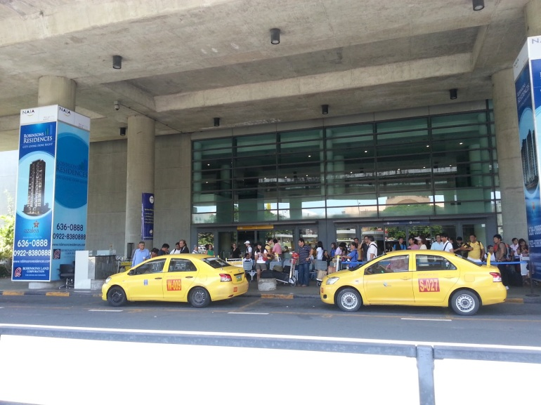NAIA Yellow Taxi