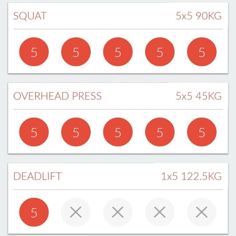 Stronglifts App